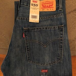Levi's 550 Relaxed Jeans 16Reg 28X28 NWT